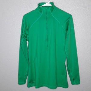 Nike Kelly Green Half Zip Dri-Fit XL Jacket